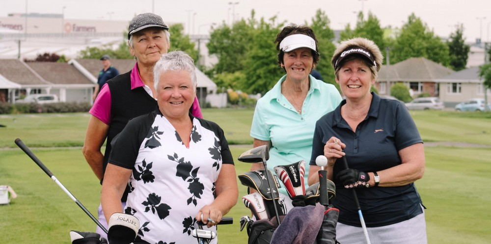 Ladies at the 2019 Golf Day